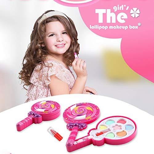 (❤Lemoning❤ Make it Up Girl Pretend Play Makeup Set for Children Great for Little Girls & Kids)