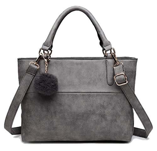 Bolso al Gris oscuro Gris para hombro mujer gris Show Yan wE78ZxYq5Z
