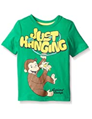 Curious George Boys' Short Sleeve Graphic Tee