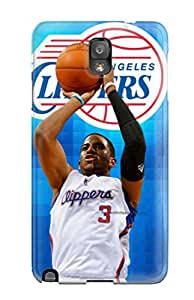 High-quality Durable Protection Case For Galaxy Note 3(los Angeles Clippers Basketball Nba (38) )