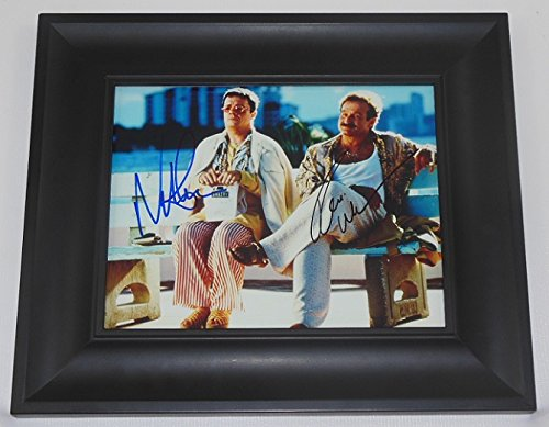 The Birdcage Robin Williams Nathan Lane Signed Autographed 8x10 Glossy Photo Gallery Framed Loa by Star Gallery