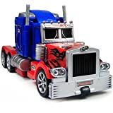 The Flyers Bay One Button Transforming Car Into Robot With Cool Dance Features (Optimus Prime)