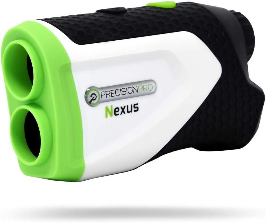 Precision Pro Golf, Nexus Golf Rangefinder, Laser Golf Rangefinder, 400 Yard Range, 6X Magnification