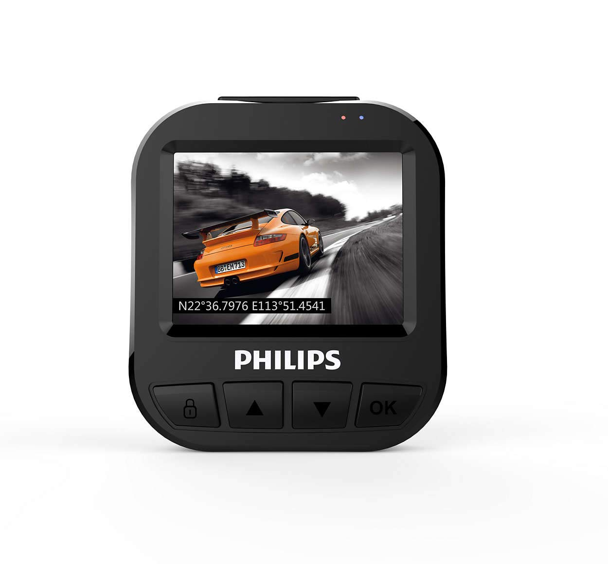 Philips 56749XM GoSure Full-HD Dashcam ADR620 C/ámara para Coche