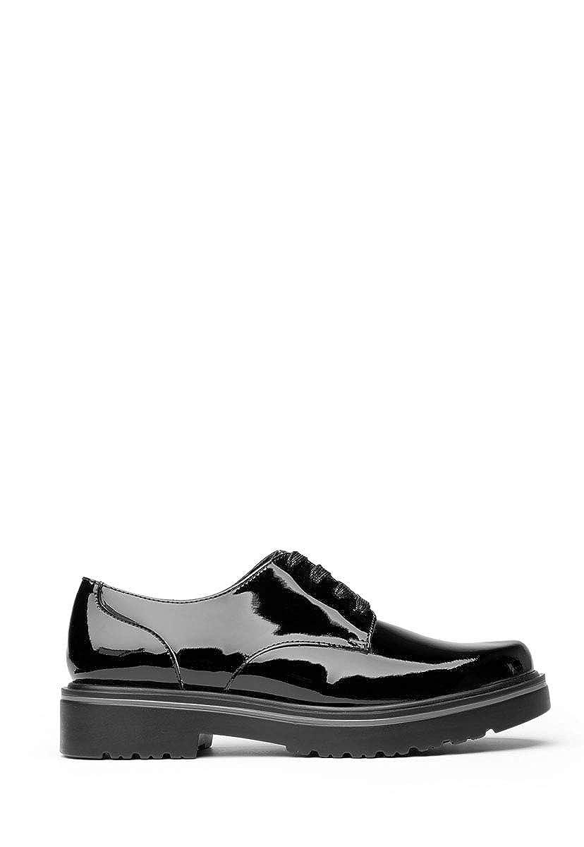 Flexi, Damen Stiefel & Stiefeletten, Schwarz - Schwarz - Größe  36