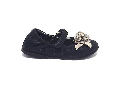 separation shoes 9d8dd 63a20 Simonetta scarpe bambina ballerina in nabuk colore nero nr ...