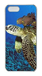 iPhone 5S PC Hard Clear iPhone Case New Version Case Suit iPhone5 Super Beautiful And Ultra thin case Easy To OperateBig Sea Turtles
