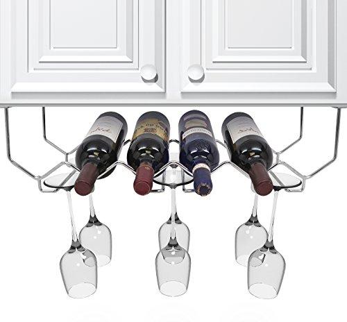 Sorbus Glassware Under Cabinet Holder