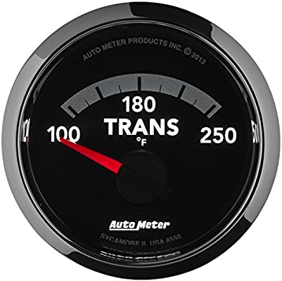Auto Meter 8550 Factory Match 2-1//16 Electric Transmission Temperature Gauge 100-250 Degree F, 52.4mm
