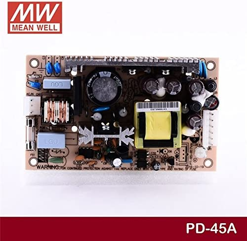 Industrial Open Frame 40W PD-45A Meanwell AC-DC Dual Output PD-45 Series MEAN WELL Switching Power Supply
