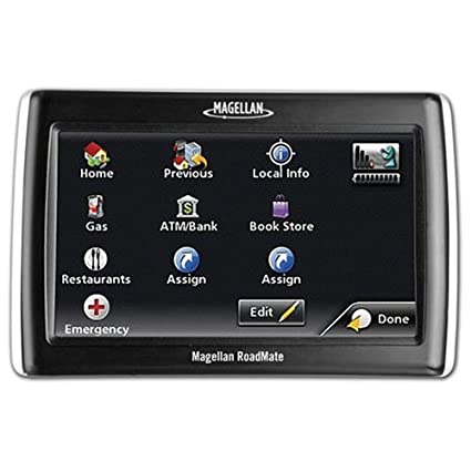 Amazoncom Magellan RoadMate Inch Widescreen Portable - Gps amazon com
