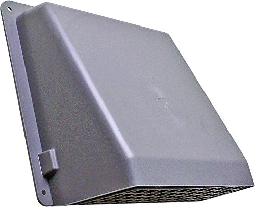 Wall 351 - GENERIC Memory 351GR/351G Lambro 351G Wall Cap, for Use with Round Duct, 6 in, Plastic, Gray, 6