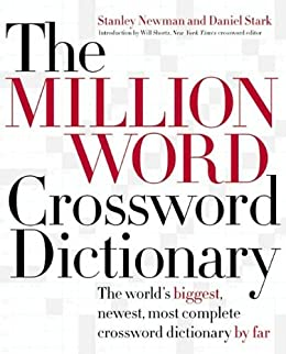 The Million Word Crossword Dictionary Kindle Edition By Stanley