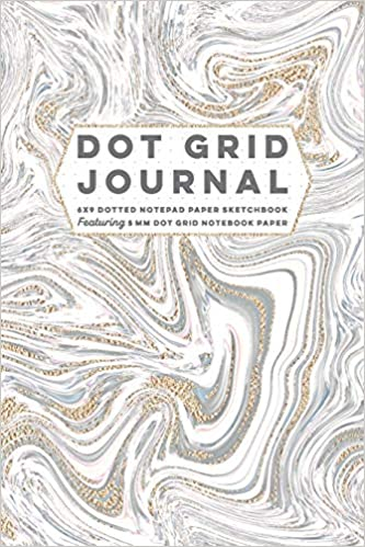 Dot Grid Journal 6x9 Dotted Notepad Paper Sketchbook ...