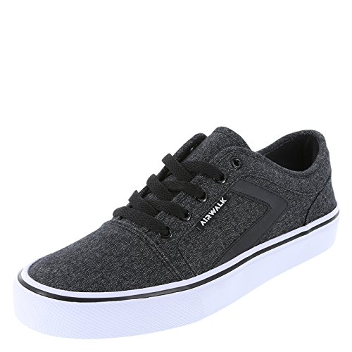 Airwalk Dark Grey Men's Rieder Pro Sneaker 9 Regular