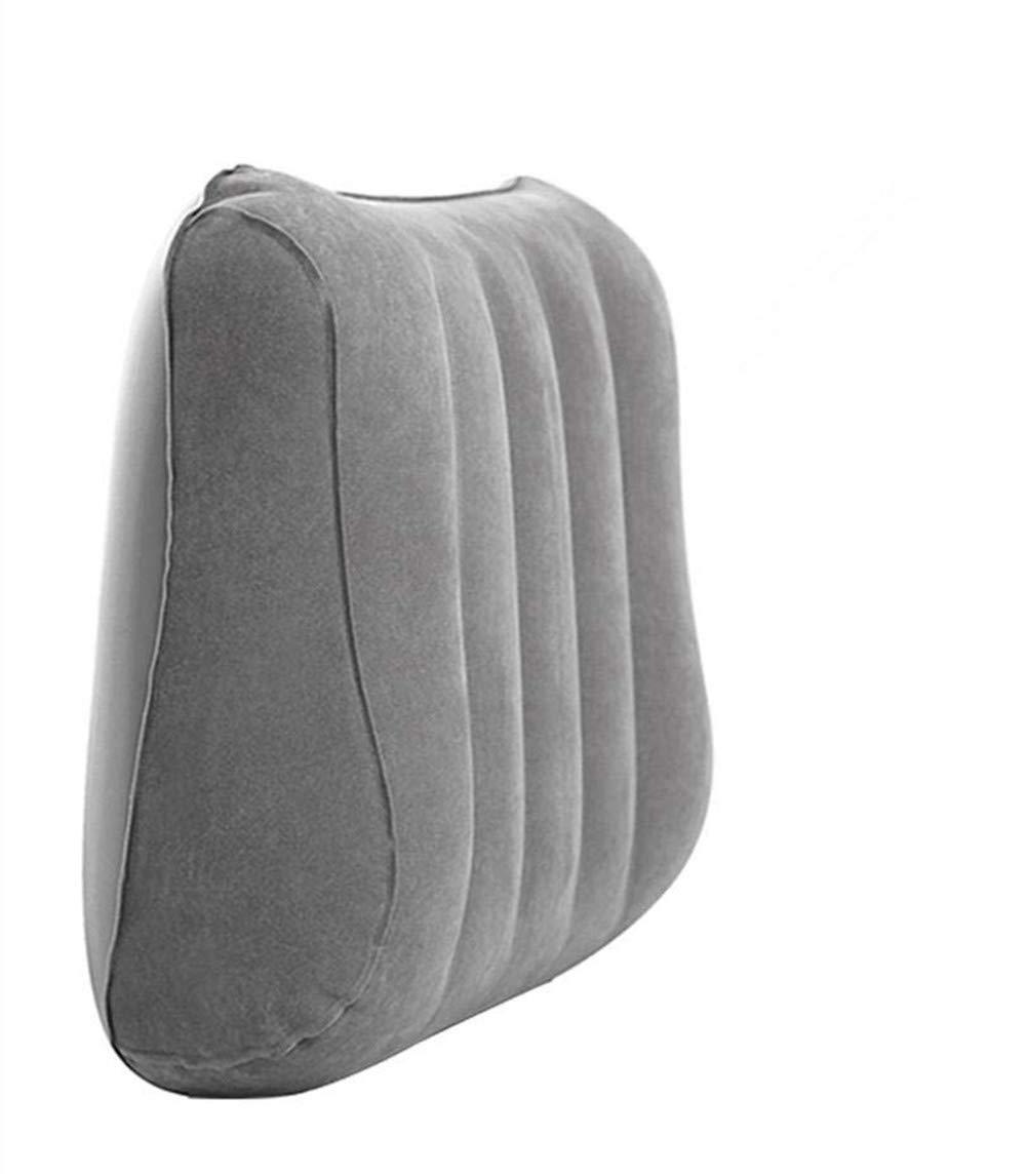 Heilsa セルフインフレーティングネック&ランバーピロー 圧縮ポータブルバックパック 旅行枕 ハイキング キャンプ アウトドア 睡眠 オフィス 車 飛行機の旅行   B07G54MD7W