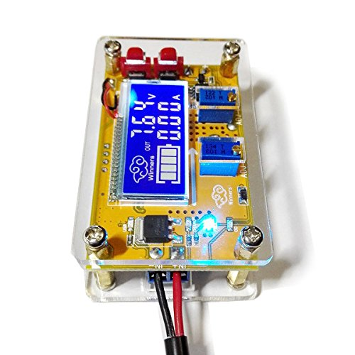 5A DC-DC Adjustable Step Down Power Supply Module Constant Voltage Current Dual LCD Display Screen - Arduino Compatible SCM & DIY Kits by Davitu Module Board (Image #3)