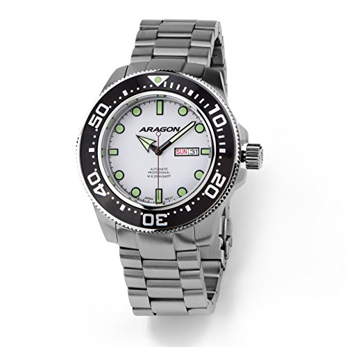 Aragon-A054WHT-Divemaster-Automatic-50mm