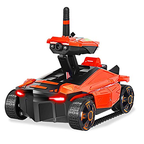 Video Spy Car (USA_BEST_SELLER RC Spy Tank Toy with HD Camera YD211 FPV Kids WiFi Shooting Game Remote Control Spy Camera Tank Drone)