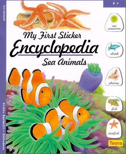 My First Sticker Encyclopedia - Sea Animals