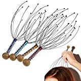 Product review for Hand Held Scalp Head Massager - Pack of 4 (Colors May Vary)