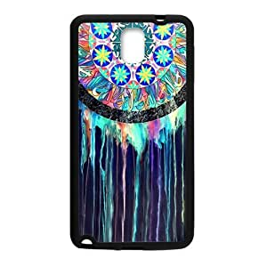 Samsung Galaxy Note 3 Case,Colorful Dream Catcher Hign Definition Abstract Artistic Design Cover With Hign Quality Rubber Plastic Protection Case
