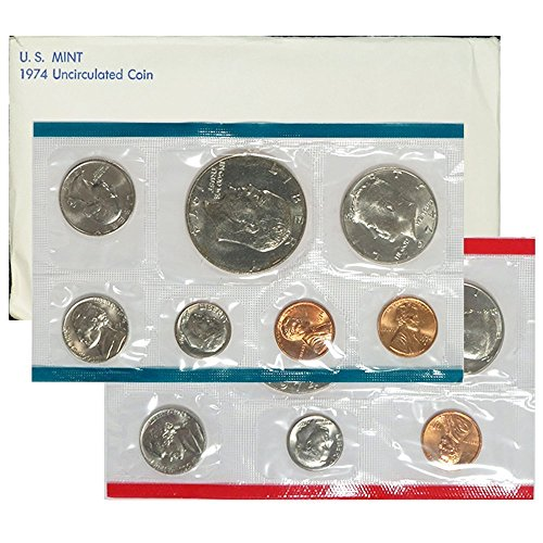 1974 P & D United States US Mint Set