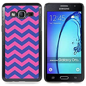 Stuss Case / Funda Carcasa protectora - Modelo púrpura del rosa femenino - Samsung Galaxy On5 O5