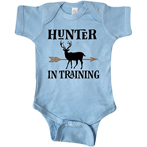 inktastic - Hunter in Training Hunting Infant Creeper Newborn Baby Blue 2de6a