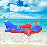 Labu Store Kids Swimming Rings Baby Inflatable Swim Ring Floating Lifebuoy Cute Pool Float Child Aircraft Toys Seat Boat 2017