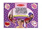 Melissa & Doug Terrific Toppers! Dress-Up Hats Role Play Costume Collection - 5 Fancy Headpieces