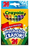 Crayola Washable Crayons-24/Pkg, Baby & Kids Zone