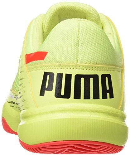 Puma 5 Jaune Euro red Black Fizzy Mixte Chaussures Adulte puma Multisport Blast Evospeed Nf Yellow Indoor UpqzrU