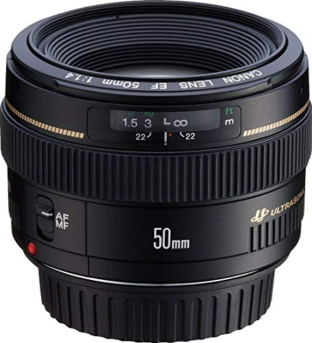 Canon Ef 50mm F 1 4 Usm Standard Medium Telephoto Lens For Canon Slr Cameras Fixed