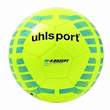 Uhlsport 290 Ultra Lite - Balón de fútbol blando, color amarillo ...