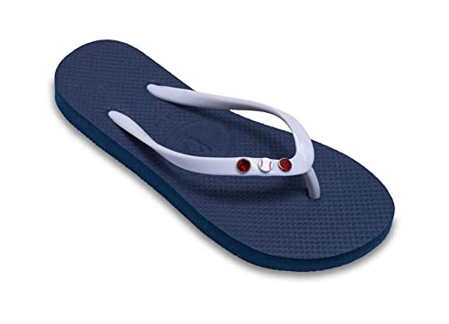 b0a0c05e818efa Ladies Baseball or Softball Flip Flops by Flip Flop Design Studio (W 4 5