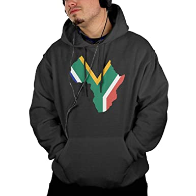 Amazon.com: Country Clipart South Africa Custom Mens Long Sleeve Sport Outwear Hoodie Pocket: Clothing