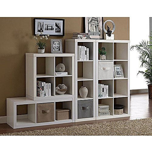 Versatile Better Homes And Gardens Square 4 Cube Organizer Multiple Colors White Buy Online