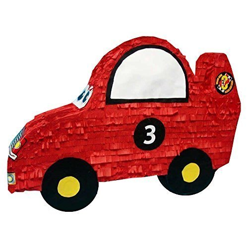 Aztec Extra Large Race Car Pinata - 29 inches, for 12 kids