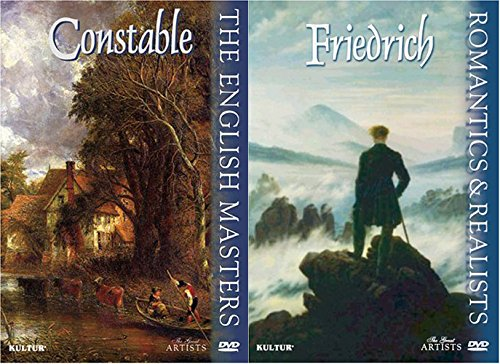 The Great Artist Series Romantics and Realists - Friedrich & The English Masters - Constable DVD Art Set
