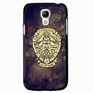 Custom Tatoos Legend of Zelda Phone Case Design Black Hard Plastic Case Cover For Samsung Galaxy S4 MINI Legend of Zelda Series