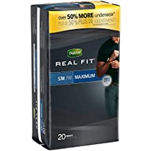 Depend Real Fit for Men Briefs, Small/Medium, 20