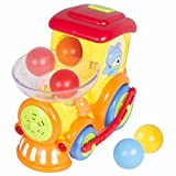Toy Electric Moving Train With Chasing Balls Activity, Lights, Talks and Sings