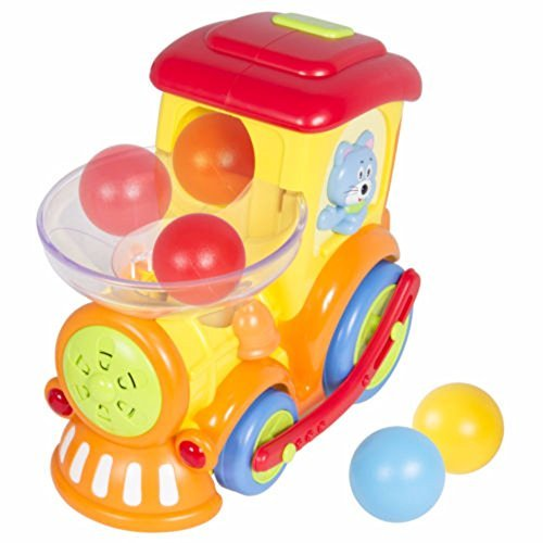 Toy Electric Moving Train With Chasing Balls Activity, Lights, Talks and Sings by Unbranded