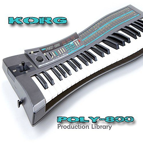 KORG POLY-800 – THE very Best of – Large Sound Library – Original Samples in WAVEs format on CD