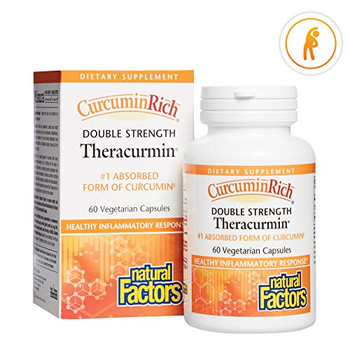 CurcuminRich Double Strength Theracurmin by Natural Factors,