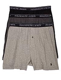 Classic Cotton Knit Boxer 3-Pack