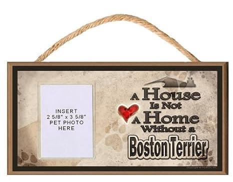 Amazon.com: Una casa no es un hogar sin un Boston Terrier ...