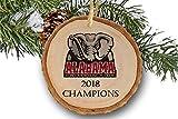 Alabama Crimson tide Championship 2018, Christmas tree Ornament, College Football, Roll tide ornament, Roll tide Alabama, National Championship 2018