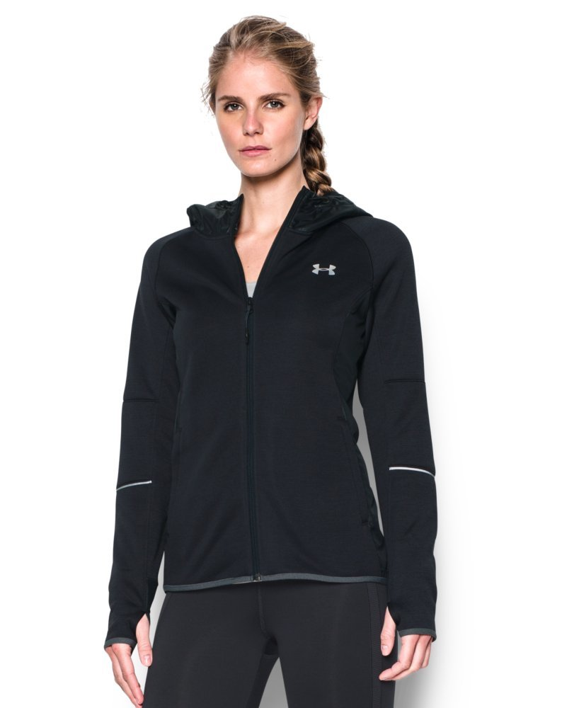 Under Armour Women's Storm Swacket Full Zip, Black/Black, Large by Under Armour (Image #1)